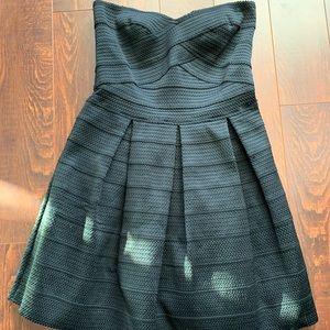 Brand NEW express textured strapless dress